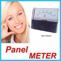 Analog Only analog panel voltmeter - Brand New Panel Meter Analog V AC Voltmeter mm
