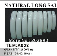 Wholesale AA312 Pack set Professional French Long Curve Salon Nail Tips Natural Color