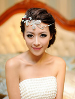 Wholesale Tiaras hair accessories bridal hair accessories bridal comb Alloy Butterfly Wedding Bridal Jewelry
