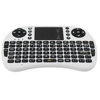 Wholesale Wireless Multi media Mini Keyboard with Touchpad for Android Mini PC TV box DHL