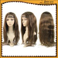 Perfect 100% 5A virgin Perulian human hair wig body wave 100...
