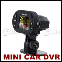 Wholesale 1 inch Car DVR HD camera P Video Carcam X Digital Zoom degree G sensor Night Vision C600
