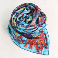 Wholesale and retail ladies scarf silk scarf designer scarves mixed order best selling new for winter