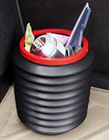 Wholesale Car folding flexible Storage Box Car trash can with L high capacity