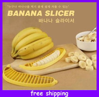 Plastic banana cereal - Banana Slicer Cutter Great for Cereal Sandwitches Splits Hot Dogs NEW