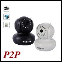 Wholesale IP Camera P2P PNP New Wireless Indoor Plug and Play Two way Audio Security Night Vision and Motion cheap and safe
