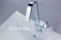 Wholesale Brand New Chrome Swivel Kitchen Sink Faucet Vessel Mixer Tap Brass Faucet D