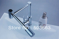 Wholesale Brand New Concept Swivel Kitchen Sink Faucet Mixer Tap Chrome Faucet D