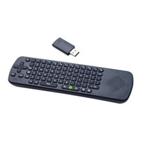 Wholesale Fly Air Mouse RC13 GHz Wireless Keyboard W Speaker Microphone for Android TV Box Mini PC