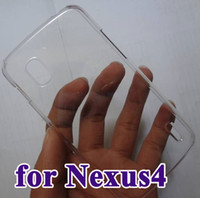 Wholesale hard Transparent clear case for Nexus LG E960