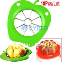 Wholesale 10Pcs Hot Selling Corer Slicer Easy Cutter Cut Fruit Knife for Apple Pear