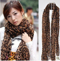 Wholesale Fashion Leopard Scarf Soft Long Shawl Wrap for Women