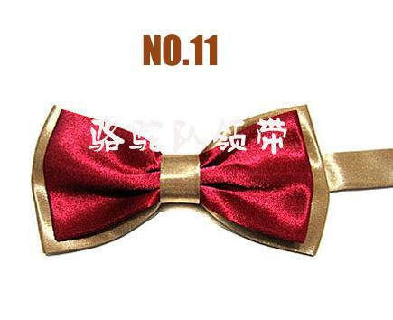 Wholesale 100pcs/lot New Novelty Mens Unique Tuxedo Bowtie Bow Tie Necktie