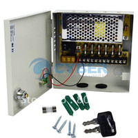 Wholesale Holiday Sale Channel CH CCTV Security Regulated Camera Power Supply Box V DC