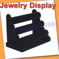Wholesale Brand new and high quality Tier Velvet Watch Bracelet Jewelry Display Holder Stand