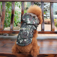 Wholesale Camo Warm Fleece Dog Pet Apparel Clothing Dog Costume Clothes Coat