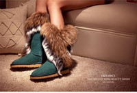 boots ladies boots - Womens Winter Boots Warm Boots Man Made Material with Fur Decor Green Fancy Lovely Ladies Shoe Cute