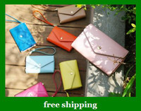 Wholesale Popular Women PU wallet purse Crown Smart Pouch cell phone case key coin bag girl gift