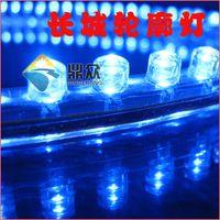 PVC aquarium wall decorations - PVC cm leds wall lights waterproof bright pvc LED car flexible strip light V water proof fish tank aquarium neon strip light
