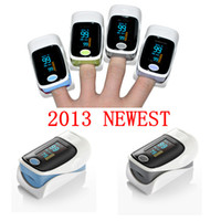 Wholesale 2013 NEW finger pulse oxieter SPo2 PR Oxygen heart monitor