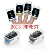 Wholesale 2013 NEW finger pulse oxieter SPo2 PR Oxygen heart monitor