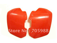 Wholesale RED UNIVERSAL MOTORCYCLE RED HAND GUARDS HANDGUARD SHIELDS YAMAHA WR YZ