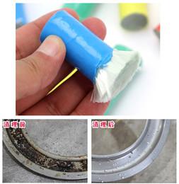 Wholesale Rust Brush Rub Pot Decontamination Stick Rod Rag Effective Cleaning Brushes Kitchen Gadgets