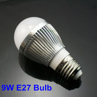 Wholesale 5PCS W pure Warm White E27 High Power LED Light Lighting Globe Lamp Bulb V free downlight c