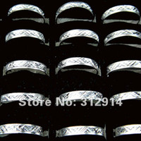Unisex aluminum rings jewelry - Jewelry Top Aluminum Steel Silver Rings