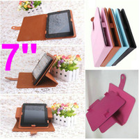Wholesale 360 Rotating PU Leather Cover Case inch Case inch Case for inch Tablet PC COLORS
