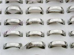 Hot sell ! 50pcs mix size Polish Copper Mirror Ring 1