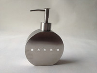 Wholesale Stainless steel soap dispenser liquid soap dispenser shampoo bottle bath bottle hand sanitizer bottle