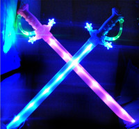 Wholesale Children s toys flash sword sword sword toy knife with luminous music sounds in children toys