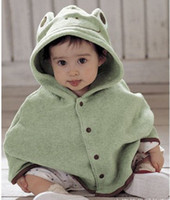 TUTU Christmas Boy Baby clothes cloak cute children's clothing frog cloak thickened section