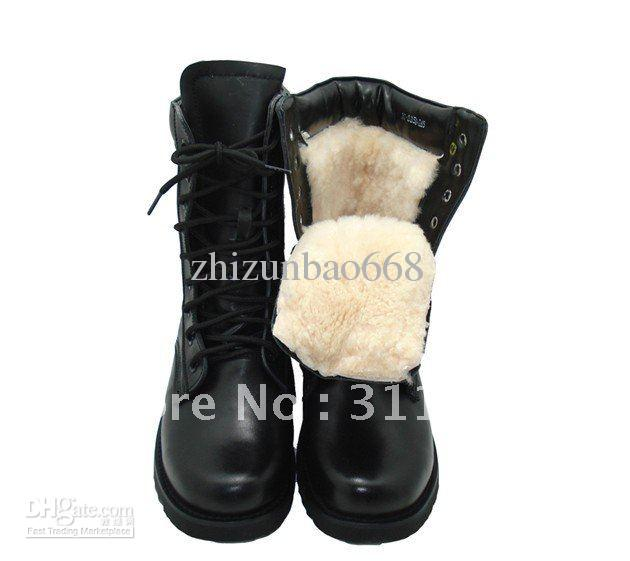 Wholesale Full Grain Leather Boots Men High Quality Winter Boots ...
