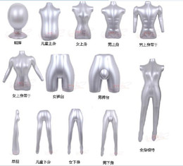 Wholesale Special inflatable model props female body men and women half model