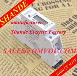 Wholesale Slim kwh meter single phase energy meter