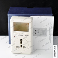 Wholesale 220V US Version Voltage Meter Monitor Energy WATT Power Test Tester
