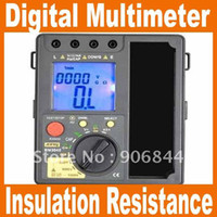 Wholesale Freeshipping in High quality BM3548 Digital Insulation Resistance Tester Meter digital multime