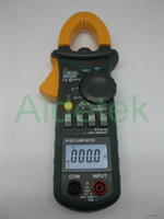 Cheap New MS2108A 4000 AC DC Current Clamp Meter backlight Frq Cap CATIII vs FLUKE hol