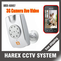 Wholesale WCDMA G Video Camera with IR G camera G remote camera See g live Videos voice indication fu