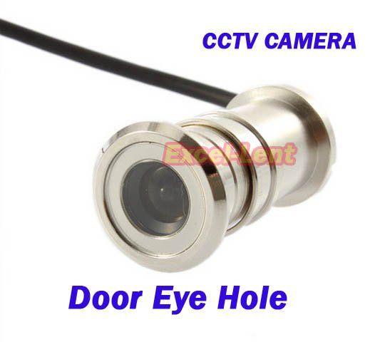Best new mini pinhole security color eye hole door cctv for Door eye hole