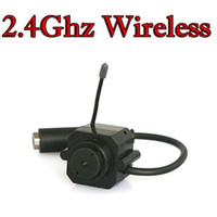 Wholesale MiNi Ghz Wireless Color Camera WC100TF