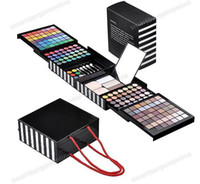 Wholesale 177 color EyeShadow Palette Cheek Blush Lipgloss Make up makeup set EYE brush