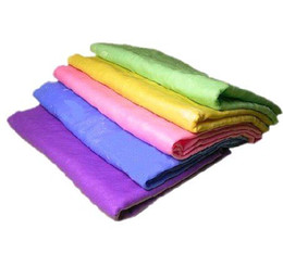 Wholesale compressed PVA chamois Magic towel tissue hair drying car cleaning bath make up baby c