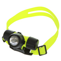 Wholesale LM CREE Q5 LED Diving Headlamp Waterproof m Swimming Head light