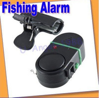 Wholesale 10pcs NEW Electronic Bite Fish Alarm Bell Fishing Rod Pole W LED light