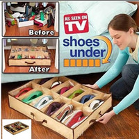 Wholesale NEW Shoe Organizer Storage Holder Used Under Bed or Closet Holds Pairs