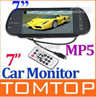 Wholesale Lowest Price Car Rearview Monitor quot LED Backlight Color TFT LCD SD USB MP5 FM Transmitter K380 pc