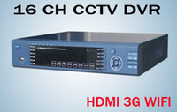 Wholesale 16CH Real time CCTV Standalone DVR HDMI output Support G WIFI Internet access CH Video and CH